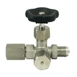 tripotni manometrski ventil