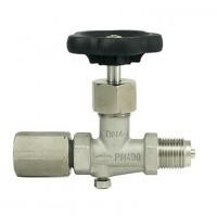 Manometrski ventil (inox) DIN 16270