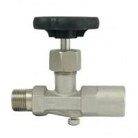 Manometrski ventil NPT (inox) DIN 16270