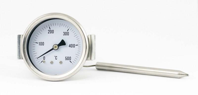kapilarni  vgradni termometer 500°C