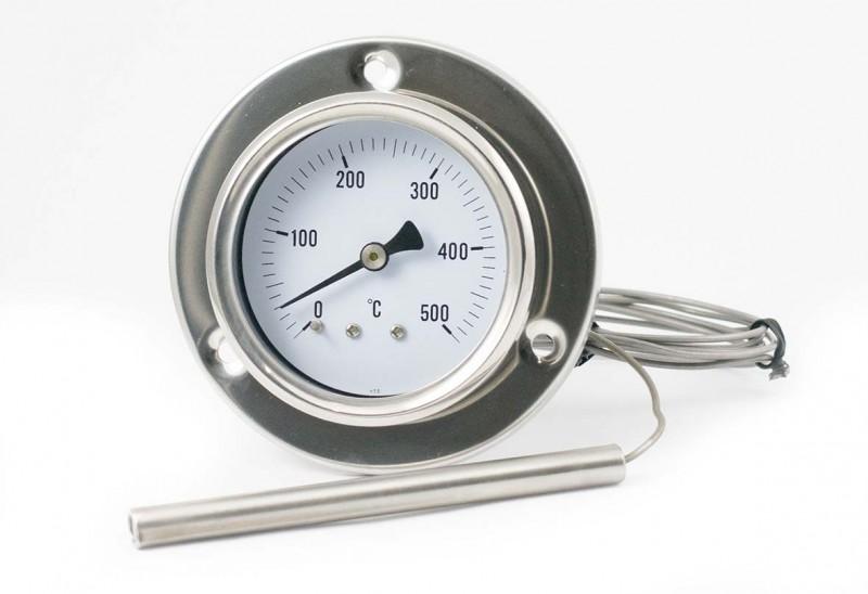 termometer s prirobnico
